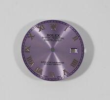 New Custom Rolex Datejust Oyster perpetual Purple Dial  28.00mm