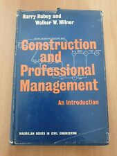 AA.VV 1966 MACMILLAN Construction And Professional Management
