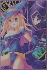 (100)YuGiOh Standard Size Sleeve Sexy Dark Magician Girl Card Sleeves 100Pcs #30