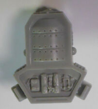 VINTAGE! 1989 Hasbro GI Joe Replacement Parts-Rock & Roll Backpack-Gray