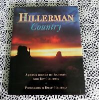 Hillerman Country by Tony Hillerman SIGNED Stated 1st Edition Navajos Hopis HC