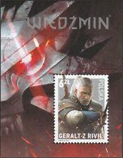 Poland 2015 - Witcher - Fi bl 294 MNH**