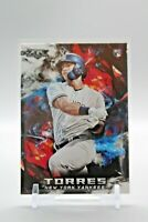 2018 Topps Fire  Gleyber Torres ROOKIE CARD RC #119 New York Yankees
