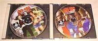 Tekken 2 II and 3 III Sony PlayStation 1 PSX PS1 Original game discs scratched