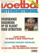 V.I. 1993  nr. 21 - BABANGIDA/HEERENVEEN-AJAX/VAN GOBBEL/DANNY BLIND