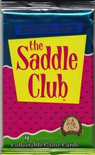 THE SADDLE CLUB - Trading Card Game Boster Packs (27) #NEW