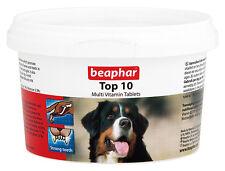 BEAPHAR TOP 10 DOG MULTIVITAMIN TABLETS 180 TABLETS / 117g VITAMINS & MINERALS