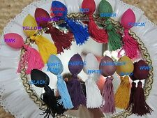 Perfume Atomizer Ball -w- Tassel SEE LISTING COLORS