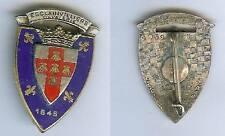 Cuirassiers -  3° Régiment cuirassiers émail ancien période Algérie A