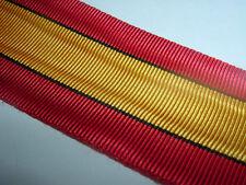 MEDAL RIBBON-GOOD QUALITY BELGIUM/BELGIAN WW1 SERVICE MEDAL