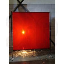 Cartel 2 x 2 m, Rojo schweißerschutzwand Cortina para soldar schweißerschutzwand