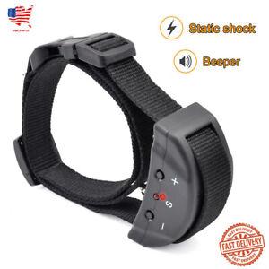 Dog Training Collar Anti Bark Shock Beep Stop Barking Pet Training Control TBI