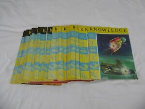 KNOWLEDGE MAGAZINES - JOB LOT OF 27 VOLUMES