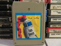 THE WHO Face Dances (8-Track Tape)
