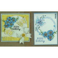 Flower Metal Cutting Dies Stencil Scrapbooking Paper Card Embossing Craft JR Dz