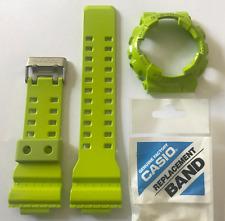 CASIO Original G-Shock Band Strap GA-110B GA-110B-3 And Green Bezel GA-100 GA110