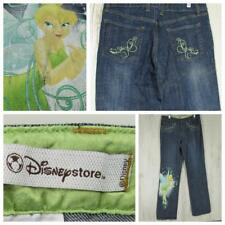 Disney Tinkerbell Jeans - Size 30x32 - Straight Leg - Stretch - Medium Wash