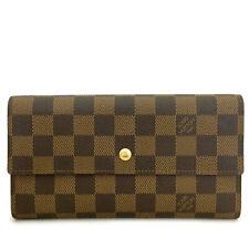 Louis Vuitton Damier Porte Tresor International Trifold Long Wallet /A0160