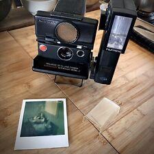 Polaroid SX-70 Land Camera Supercolor autofocus model 2 + Flash Polatronic