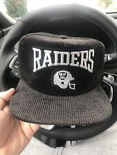 Vintage Raiders Corduroy Snap Back