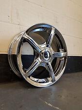 """15"""" Chrome RUOTE VUOTO Classic ET25 Lega Si Adatta Mercedes, VW, Audi, Honda, ALTRI"""
