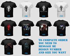 Darksiders II Corvo Playstation 4 PS4 Xbox One Video Games Men Shirt Black Tee