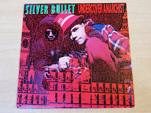 """Silver Bullet/Undercover Anarchist/1991 Parlophone 7"""" Single"""
