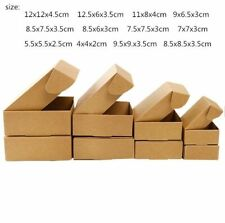 Kraft Paper Gift Box Business Mailing Packaging Tools Events Supplies 50 Pcs/Lot