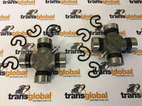 Front Propshaft UJ Universal Joint 75mm 27mm Cups x2 for Land Rover Discovery 1