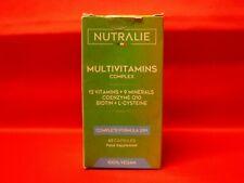 NUTRALIE MULTIVITAMINS COMPLEX 60 CAPSULES 100% VEGAN 04/2023