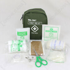 Primo SOCCORSO MIDI Pack-Kit Borsa di emergenza medica VIAGGI AUTO CADET Da Passeggio Escursioni