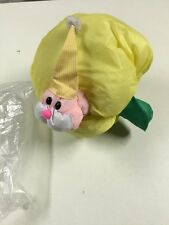 Vintage Anni 80 Bruco Mela Plush Apple Worm 80S