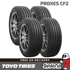 4 x Toyo Proxes CF2 High Performance Road Tyres 195 65 15 R15 (195/65/15) 91H TL