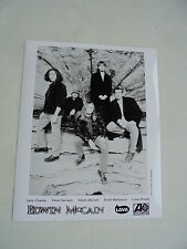 EDWIN MCCAIN  PROMOTIONAL  BLACK AND WHITE  PHOTOGRAPH