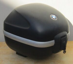 BMW MOTORCYCLE Rear HARD TRUNK Luggage TOP CASE w/ 2 LOCKS & KEY