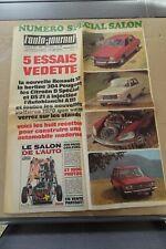 AUTO JOURNAL N° 488 / 26 SEPT 1969 / 5 ESSAIS VEDETTE