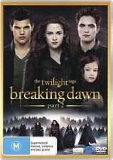 The Twilight Saga - Breaking Dawn : Part 2 (DVD, 2013) Brand New Sealed R4