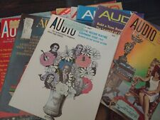 Lot of 22 High Fidelity Magazines from 1966 to 1972 Vintage Audio Electronics