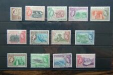 Dominica 1954 - 1962 values to 24c MM