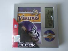 Minnesota Vikings NFL Digital Desk Alarm Clock Calendar Football Wincraft Sports