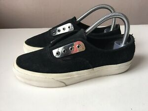 VANS ladies black suede casual trainers size 4/36.5