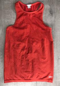 Les Mills Orange Vest Top, Size XS