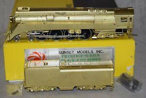 Sunset Brass Prestige Southern Pacific SP 4-8-4 GS4 Locomotive - HO Gauge in Box