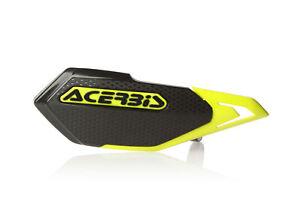 ACERBIS X-ELITE MTB HANDGUARDS YELLOW/BLACK MOUNTAIN BIKE, DOWNHILL MTB E-BIKE