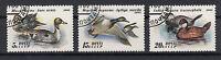 Russland Briefmarken 1991 Enten Mi.Nr.6210-12