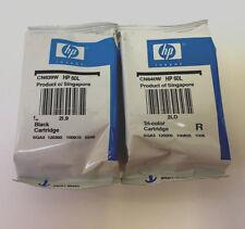2PK Genuine HP 60 Black &Tri-Color Ink Cartridge Sealed Bag F4400 F4480 F4580