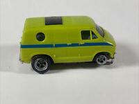 Aurora AFX HO scale slot car Lime Dodge Van Groovy Hot Rod