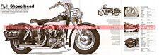 HARLEY DAVIDSON FLH 1200 Shovelhead 1976 Fiche Moto 000498