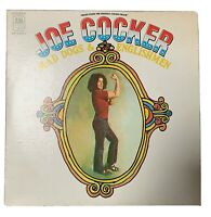 Joe Cocker Mad Dogs & Englishmen 1970 A&M 1st Press Incredible Live 2 LP Set!