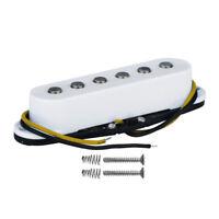 New Alnico 5 Strat Electric Guitar Single Coil Pickup Bridge Pickup White Color